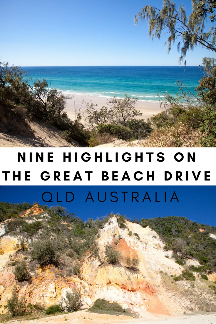 Great Beach Drive, Queensland, Australia