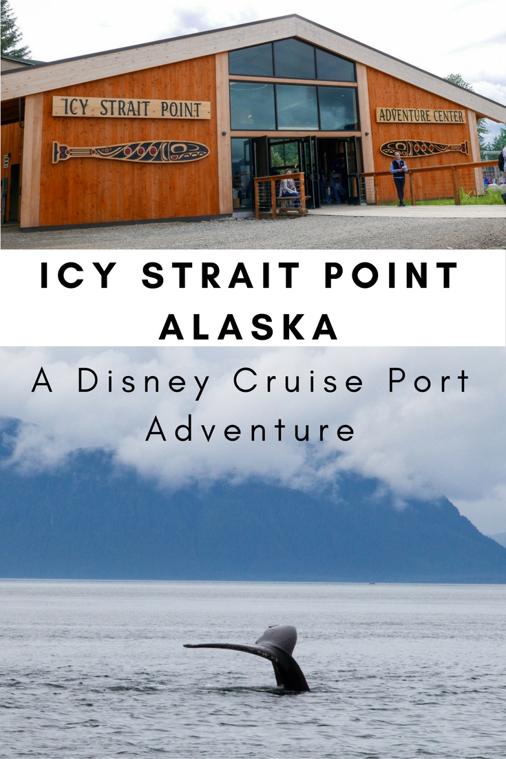 Disney Cruise Port Adventure Icy Strait Point Alaska Adventure Baby