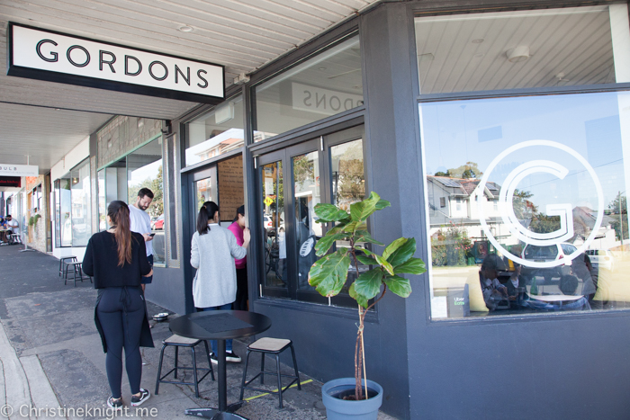 Gordons Cafe Clovelly Sydney