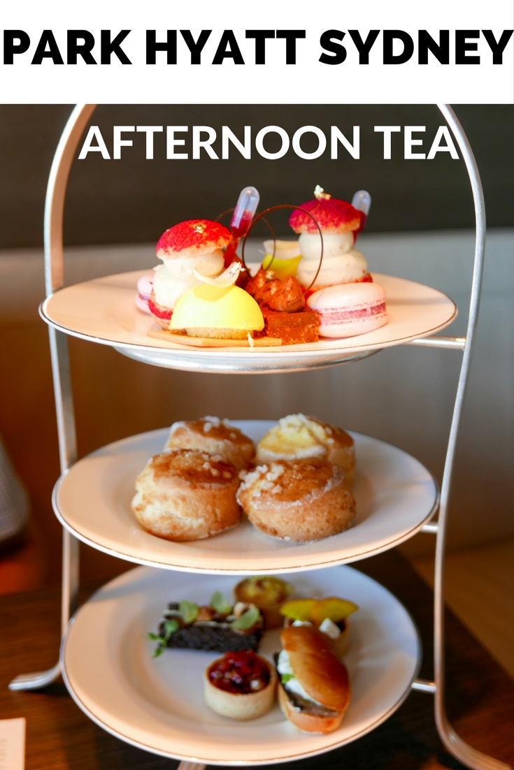 Afternoon Tea at the Park Hyatt Sydney