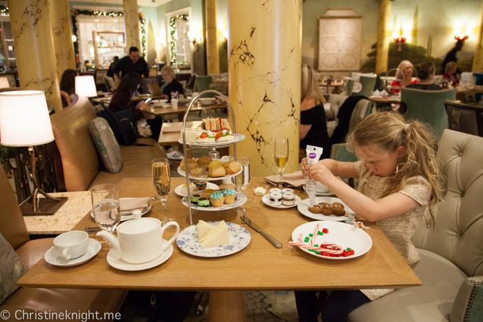 Fairmont San Francisco Gingerbread Holiday Tea
