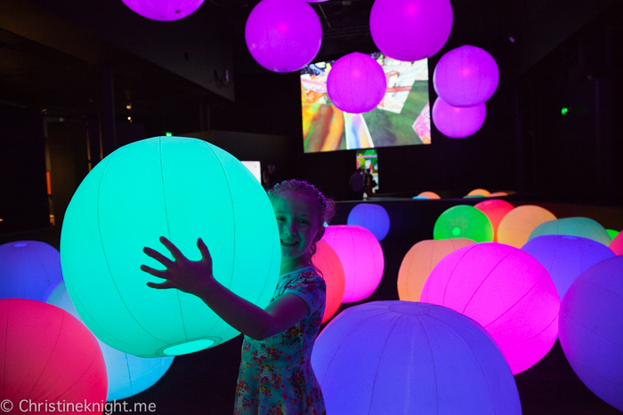 teamLab FUTURE PARK at the Powerhouse Museum