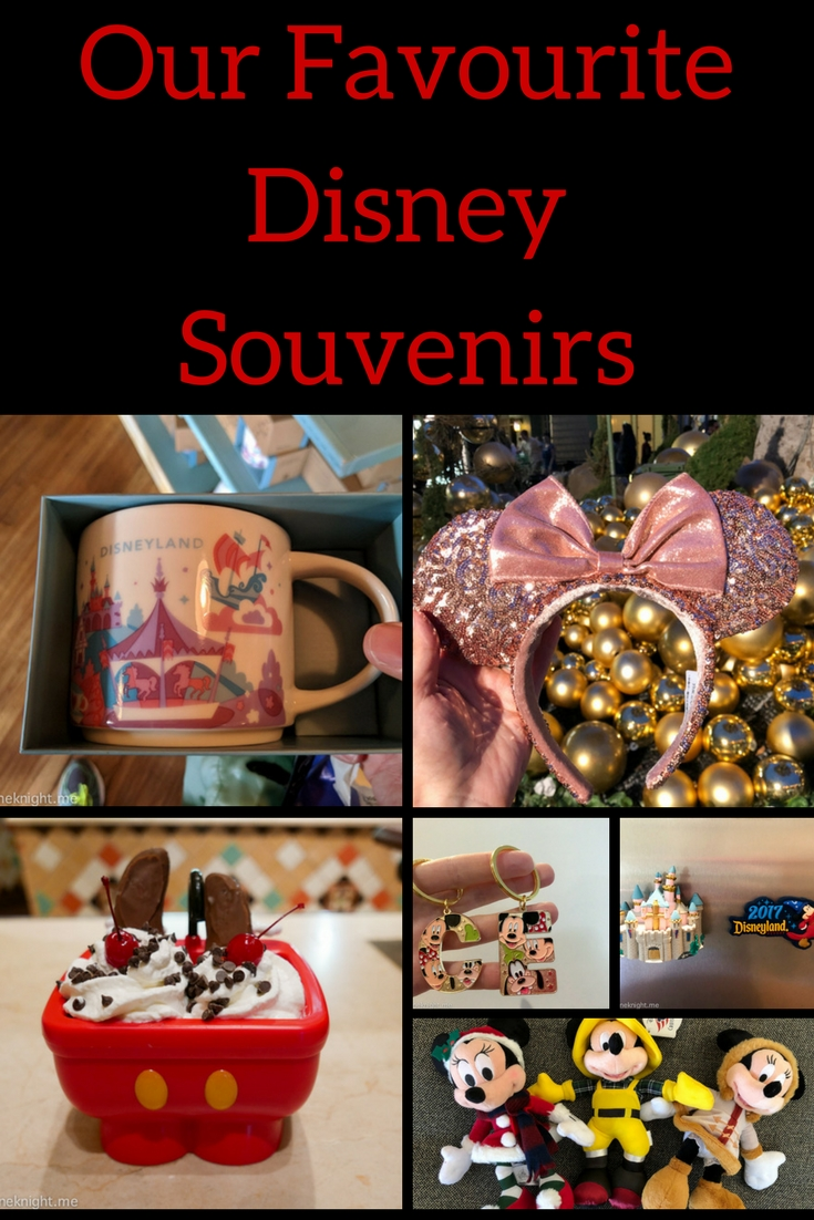 Our Favourite Disney Souvenirs