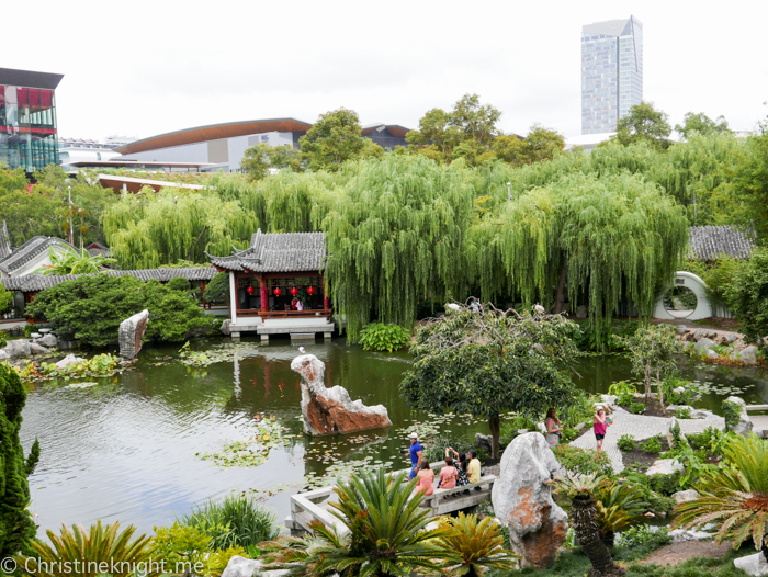 Chinese Friendship Gardens Darling Harbour, Sydney, Australia