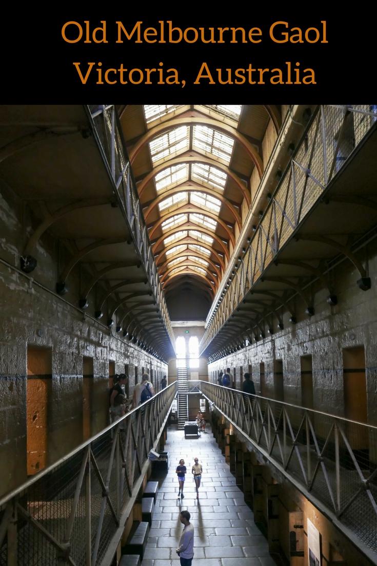Old Melbourne Gaol, Victoria, Australia