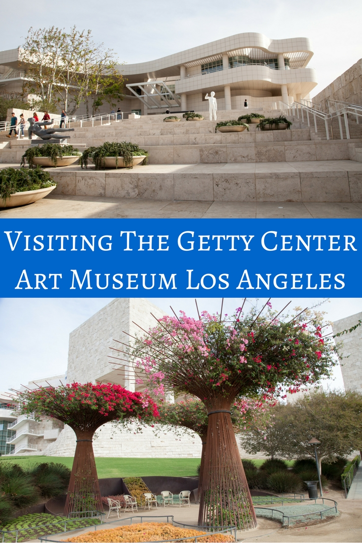 Getty Center Art Museum LA USA
