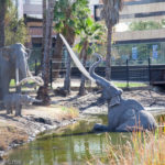 Stepping Back In Time At The La Brea Tar Pits And Museum, LA, California
