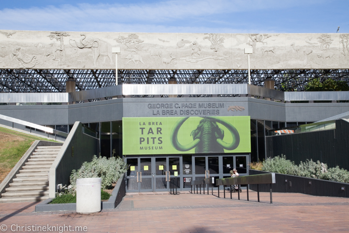 La Brea Tar Pits and Museum, Los Angeles, California, USA