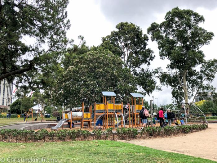 Flagstaff Gardens Playground Melbourne
