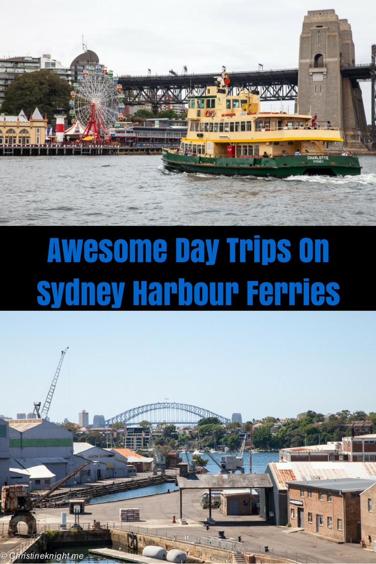 Awesome Day Trips On Sydney Harbour Ferries #sydneyharbour #sydney via Christineknight.me