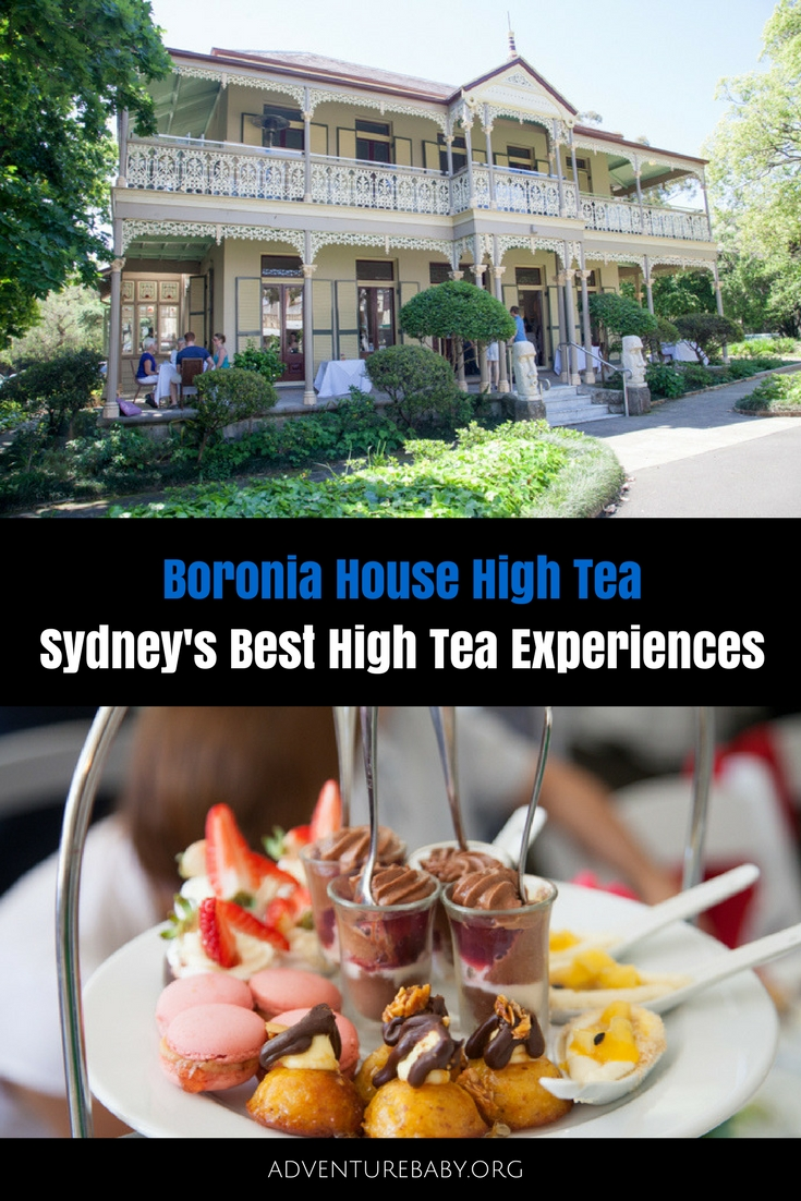 Boronia House High Tea, Sydney Australia
