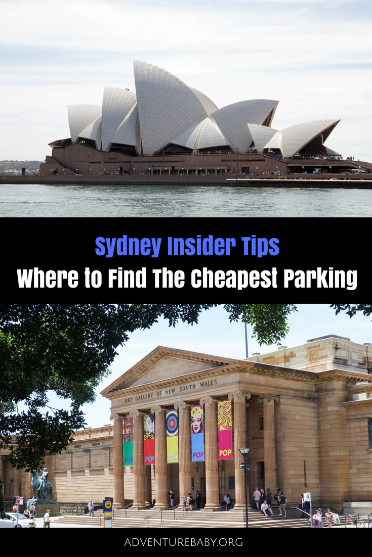 Where To Find Cheap Parking Sydney CBD, Australia