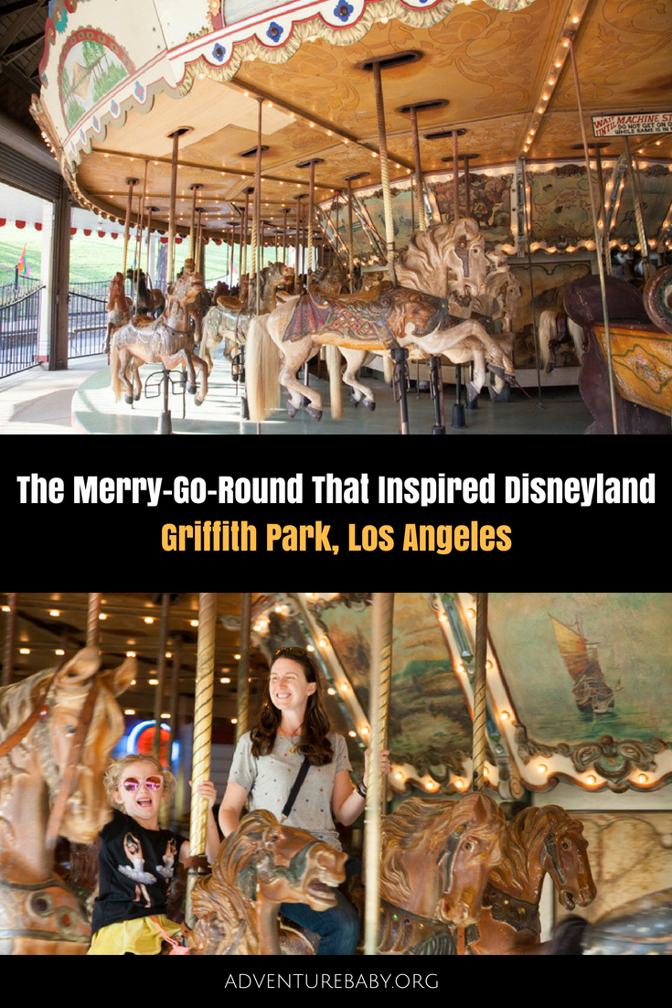 The Griffith Park Merry-Go-Round That Inspired Disneyland, LA, USA