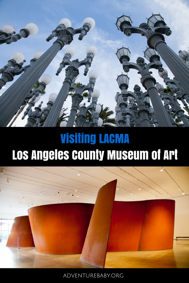 Visiting LACMA Los Angeles County Museum of Art, USA