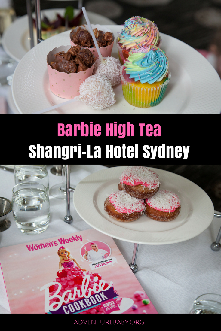 Barbie High Tea at the Shangri-La Hotel-Sydney