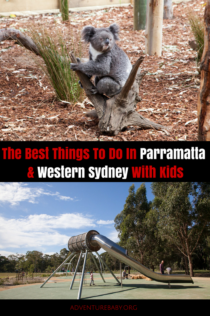 Things To Do In Parrmatta and Western Sydney, Australia, with Kids