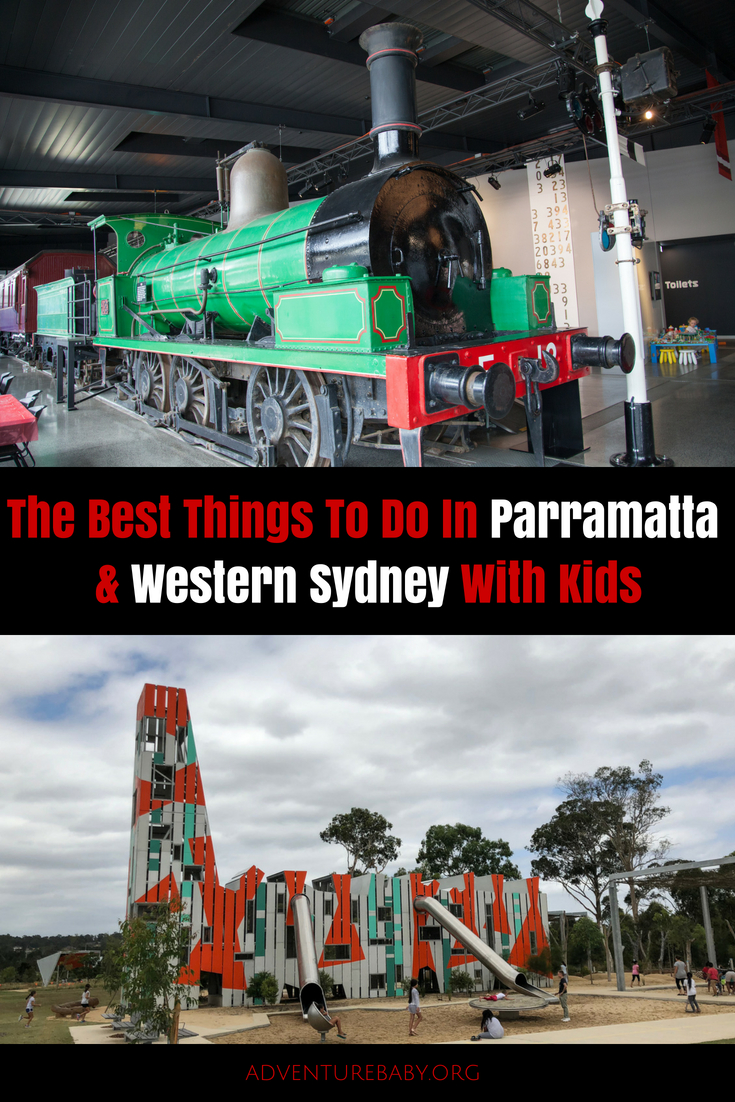 Things To Do In Parramatta and Western Sydney, Australia, with Kids
