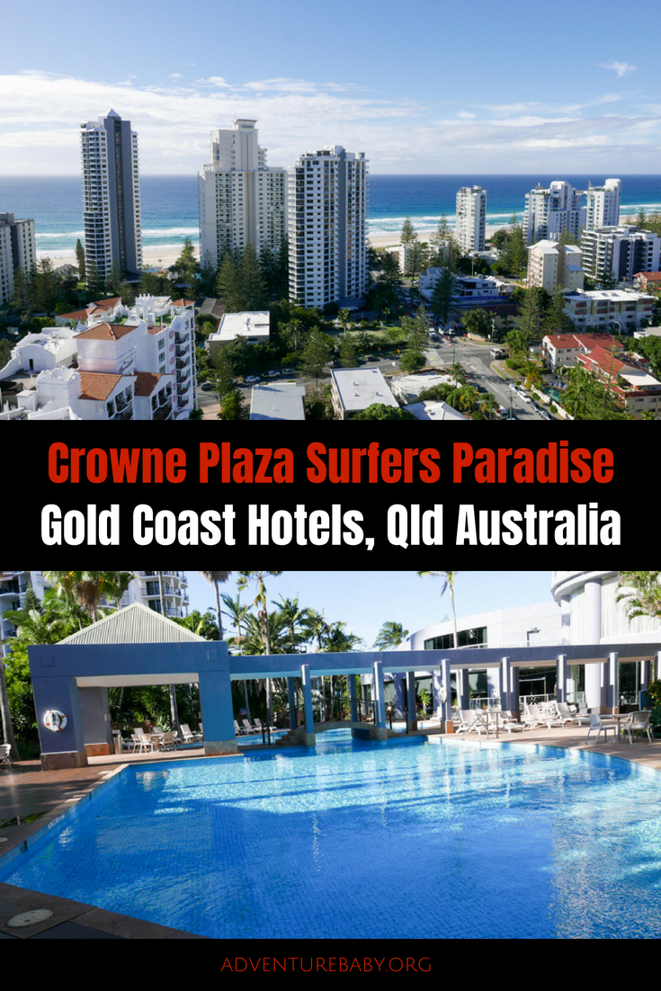 Crowne Plaza Surfers Paradise, Gold Coast, QLD, Australia
