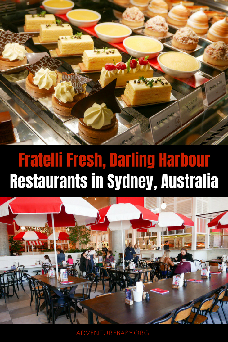 Fratelli Fresh, Darling Harbour, Sydney, Australia