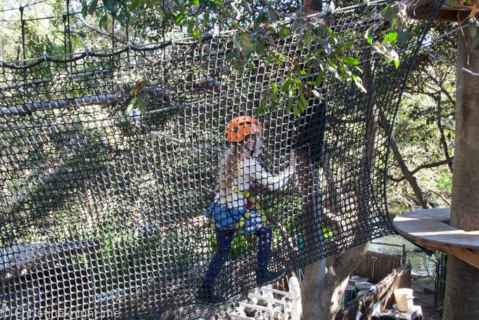 Wild Ropes, Taronga Zoo, Sydney, Australia