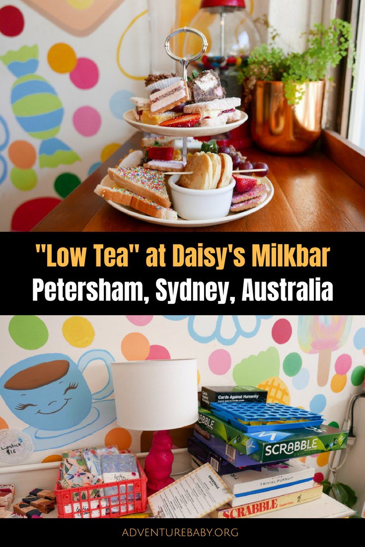 """Low Tea"" at Daisy's Milkbar, Sydney, Australia"