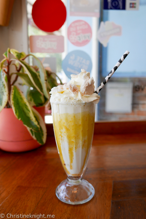 """Low Tea"" at Daisy's Milk Bar, Sydney, Australia"