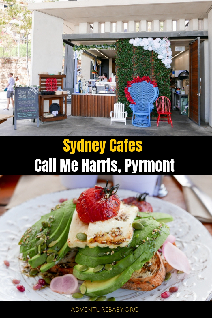 Call Me Harris, Pirrama Park and Playground, Pyrmont, Sydney, Australia