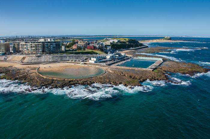 Newcastle Ocean Baths, Newcastle.
