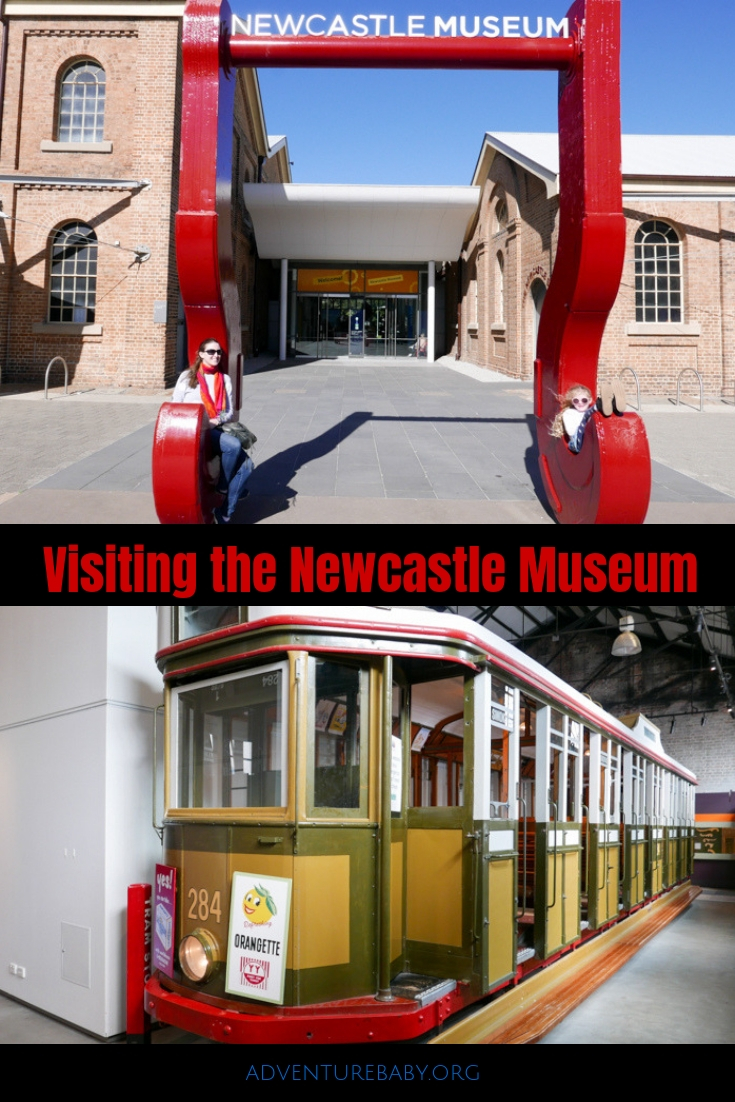Visiting the Newcastle Museum, NSW, Australia