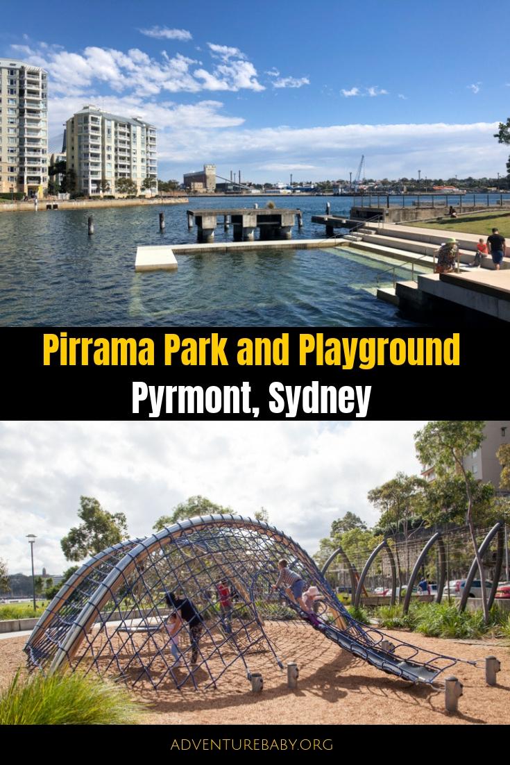 Pirrama Park and Playground, Pyrmont, Sydney, Australia