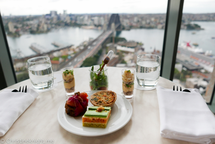 Shangri-La Hotel Sydney Blu Bar High Tea Buffet