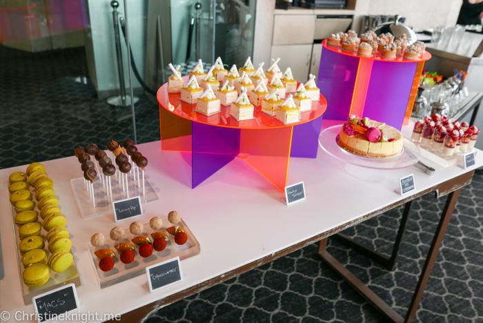 Shangri-La Hotel Sydney Blu Bar High Tea Buffet