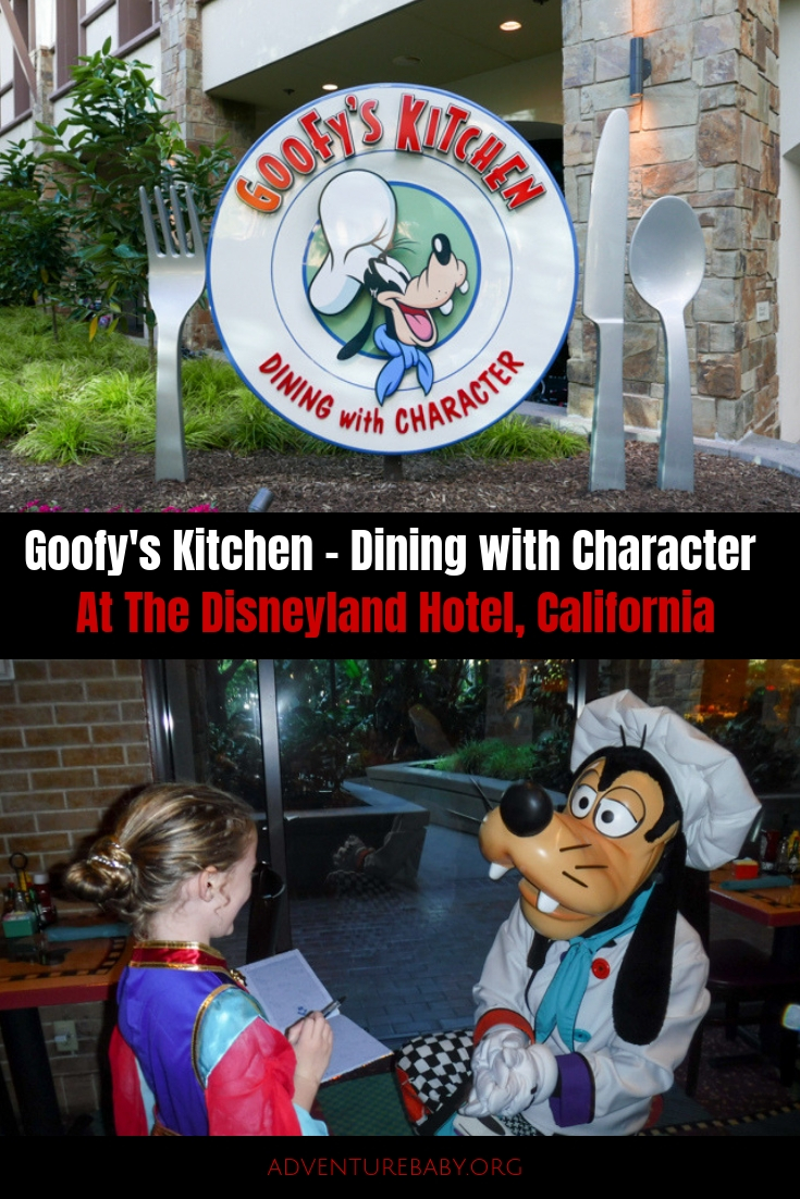 Goofy's Kitchen, Disneyland Hotel, Disneyland, California