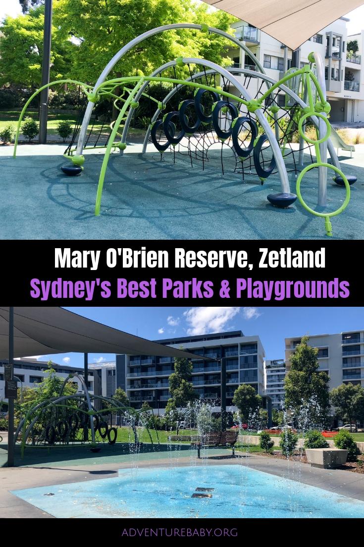 Mary O'Brien Reserve, Zetland