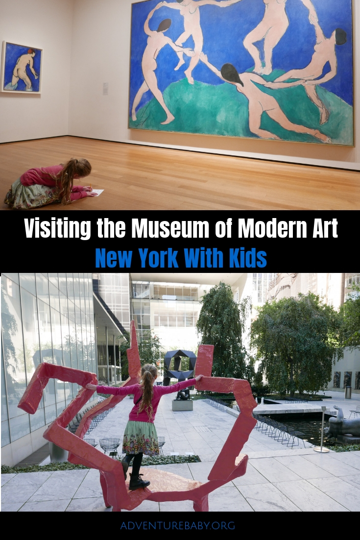 Visiting the Museum of Modern Art New York With Kids