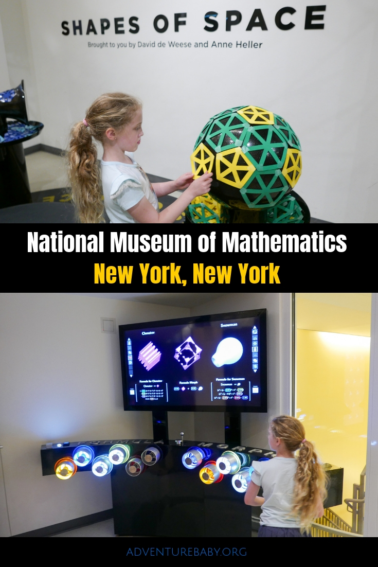 National Museum of Mathematics New York