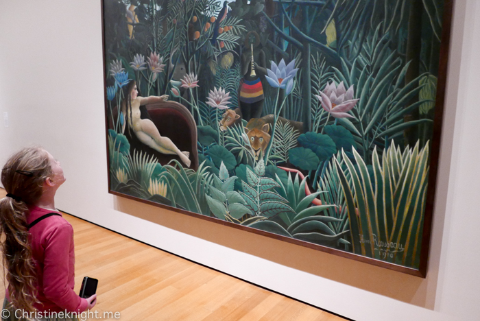 Visiting The Museum Of Modern Art Moma New York With Kids Adventure Baby