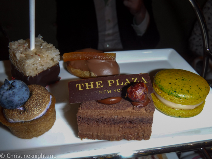 Plaza Hotel Afternoon Tea