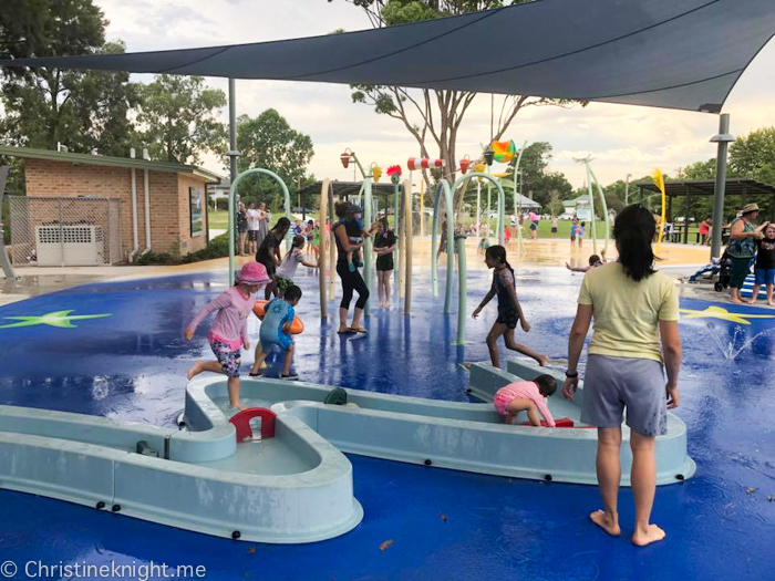 Curry Reserve Water Play Space, Camden