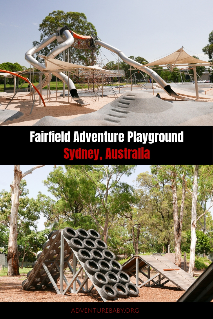 Fairfield Adventure Playground, Sydney Australia