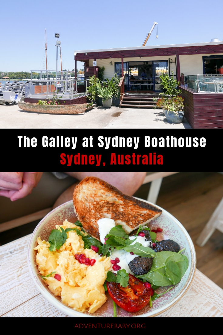The Galley at Sydney Boathouse
