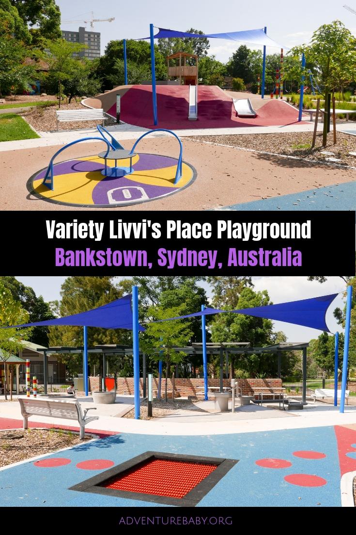Variety Livvi's Place Playground, Sydney Australia