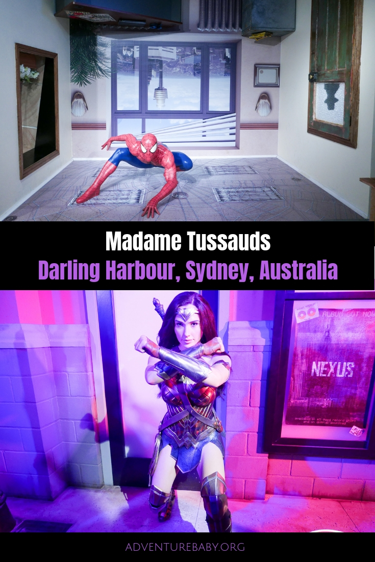 Madame Tussauds Sydney Australia