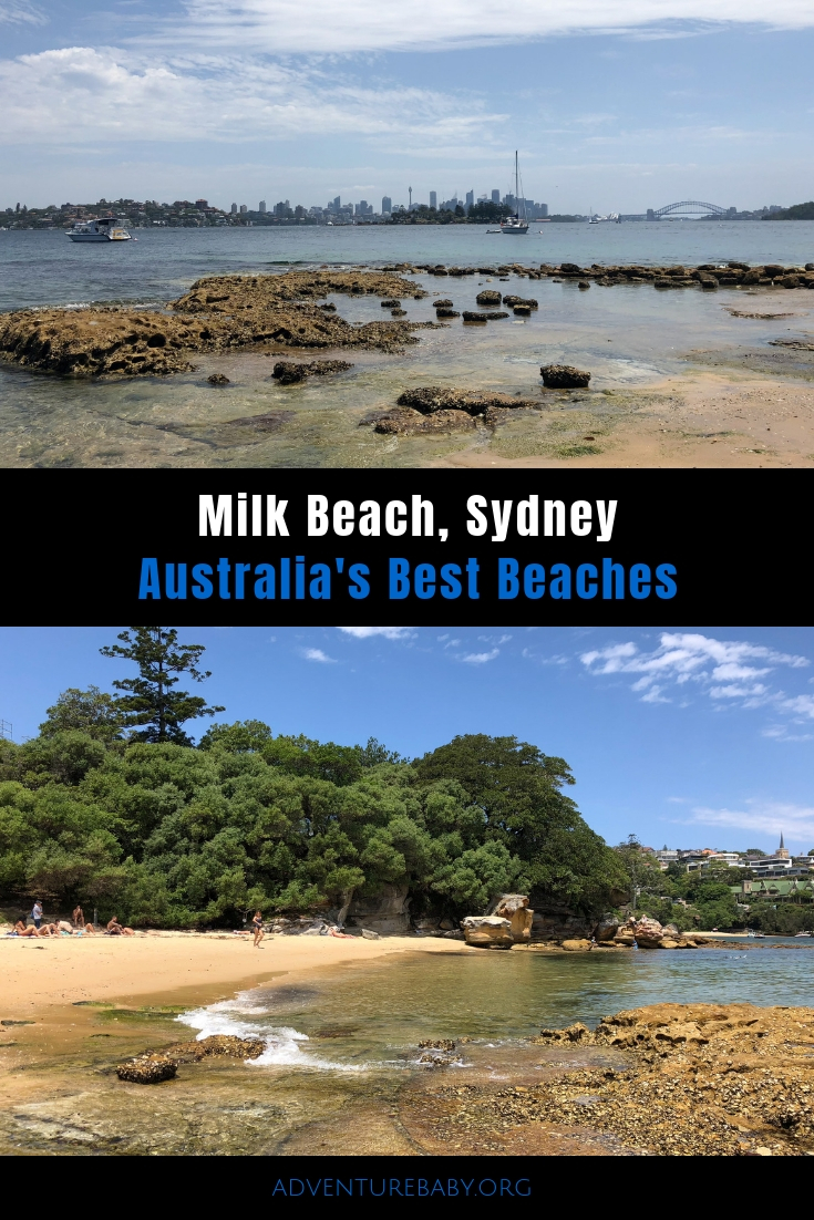 Milk Beach Sydney Australia