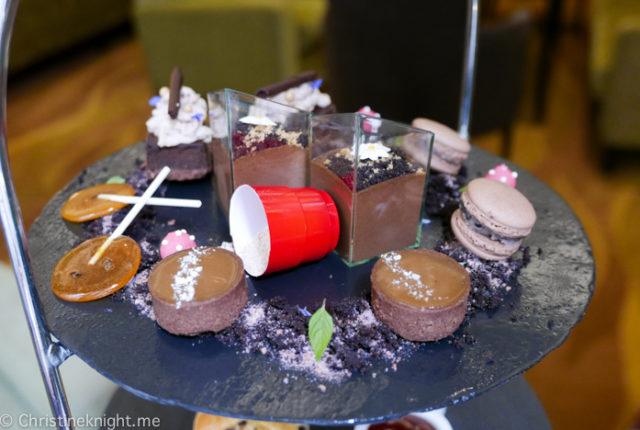 Chocolate High Tea at the Radisson Blu Plaza Hotel Sydney