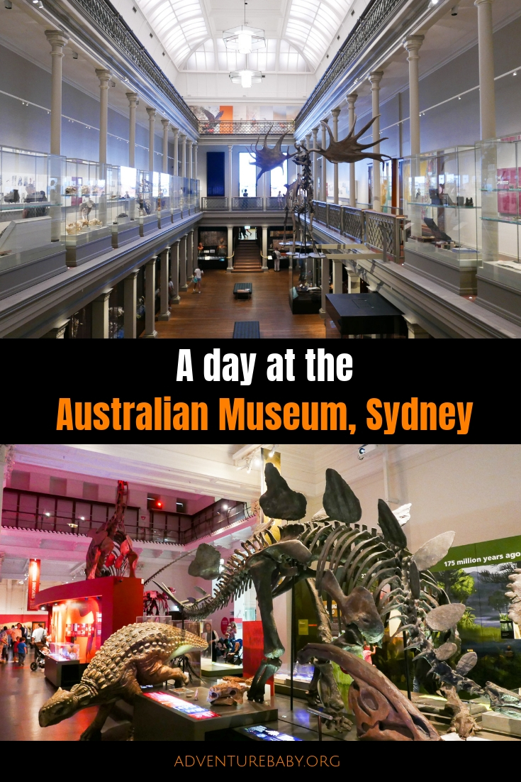 A day at the Australian Museum, Sydney, Australia