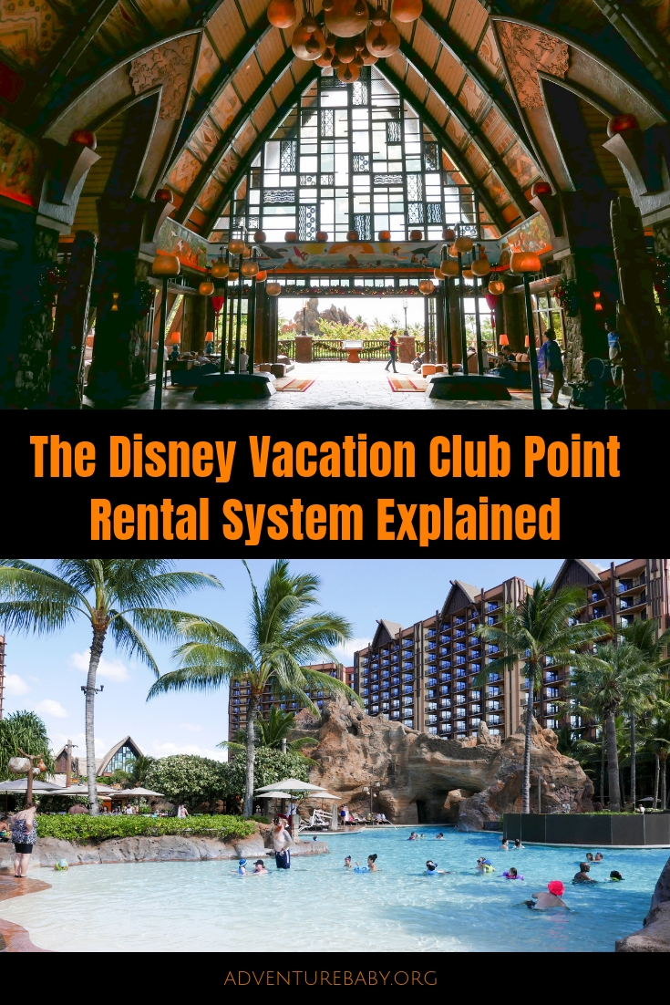 The DVC Point Rental System Explained