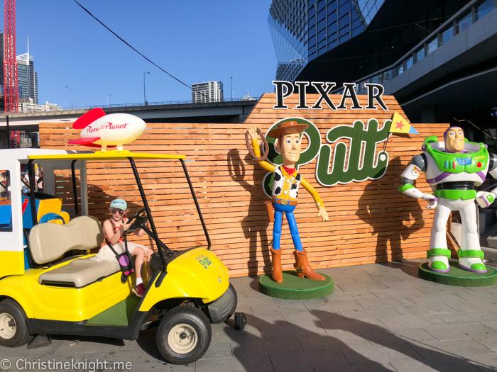 Pixar Putt Sydney