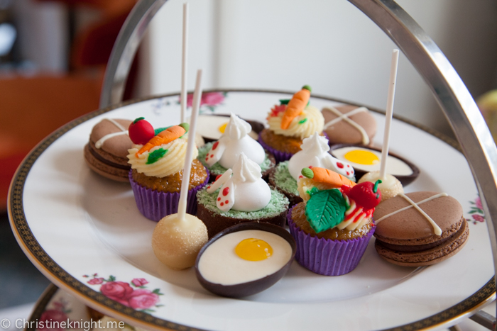 """The Tale of Mr Rabbit"" Easter Afternoon Tea at the Langham, Sydney"