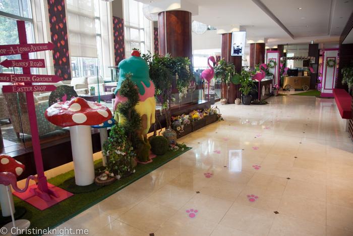Anna Polyviou's Enchanted Easter Garden High Tea Picnic at Shangri-La Hotel, Sydney